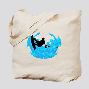 WAKEBOARD TIME Tote Bag