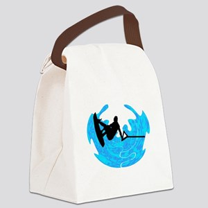 WAKEBOARD TIME Canvas Lunch Bag