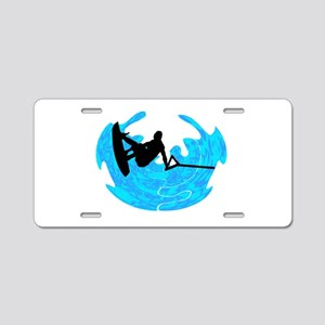 WAKEBOARD TIME Aluminum License Plate