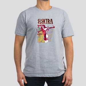 Elektra 1 Men's Fitted T-Shirt (dark)