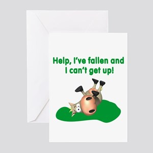 Help I've Fallen Greeting Cards (Pk of 10)