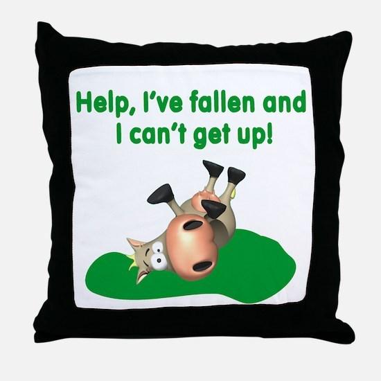 Help I've Fallen Throw Pillow