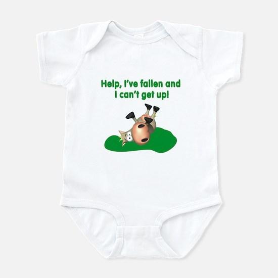 Help I've Fallen Infant Bodysuit