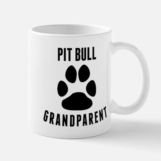 Pit Bull Grandparent Mugs