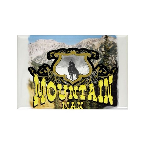 Mountain man t-shirts and mou Rectangle Magnet