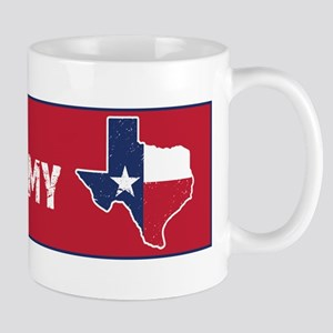 Don't CA my TX Bumper Mugs