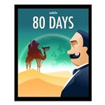 80 Days Small Poster