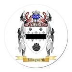 Illingworth Round Car Magnet