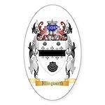 Illingworth Sticker (Oval)