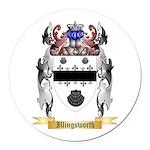 Illingsworth Round Car Magnet