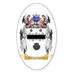 Illingsworth Sticker (Oval 50 pk)