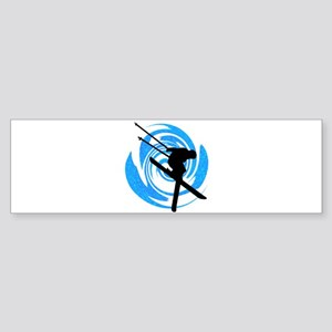 SKI MAKER Bumper Sticker