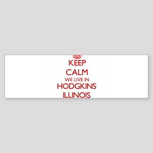 Keep calm we live in Hodgkins Illin Bumper Sticker