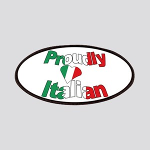 Proudly Italian Patches
