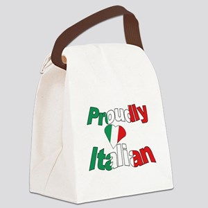 Proudly Italian Canvas Lunch Bag