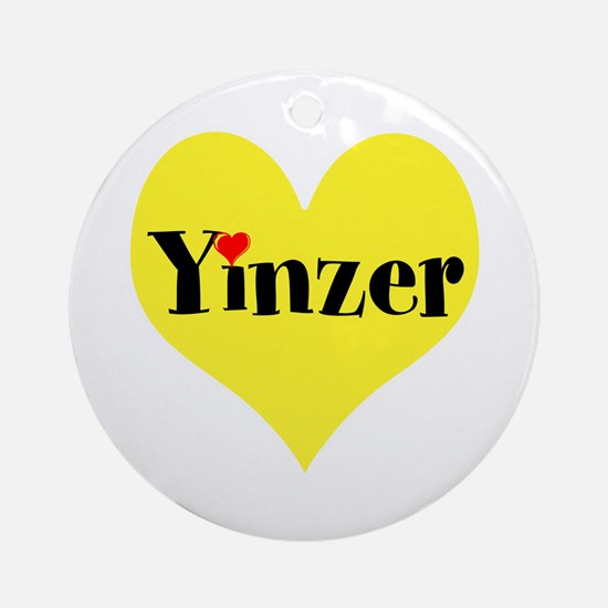Pittsburghese, Yinzer Round Ornament