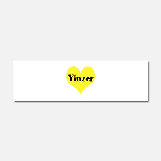 Pittsburghese, Yinzer Car Magnet 10 x 3
