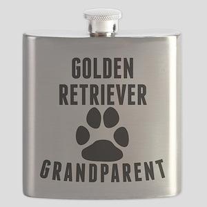 Golden Retriever Grandparent Flask