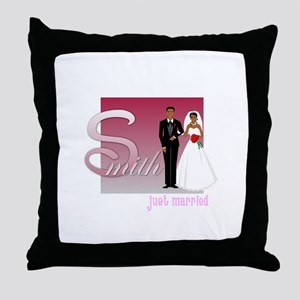 Smith Personlized Throw Pillow