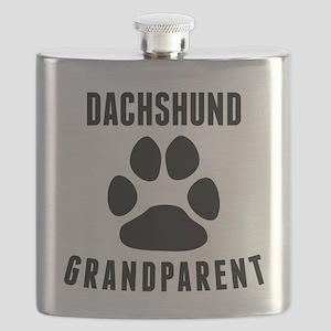 Dachshund Grandparent Flask
