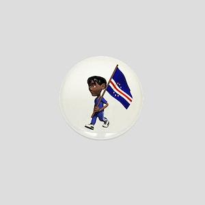 Cape Verde Boy Mini Button