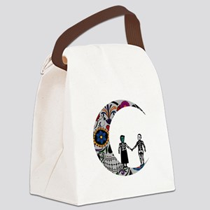 SUGAR LOVE Canvas Lunch Bag