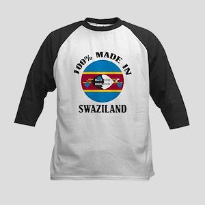 Made In Swaziland Kids Baseball Jersey