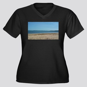 The Beach Plus Size T-Shirt
