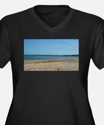 The Beach Plus Size T-Shirt
