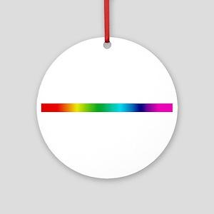 TRUE COLORS Ornament (Round)