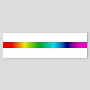 TRUE COLORS Bumper Sticker