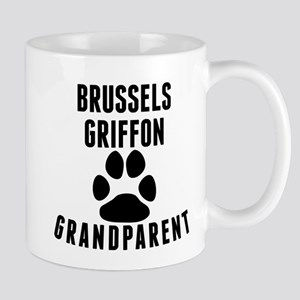 Brussels Griffon Grandparent Mugs
