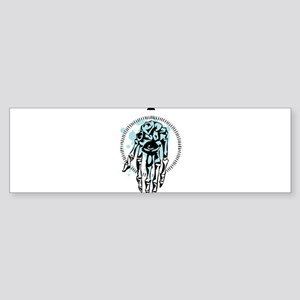 Palm eye Bumper Sticker