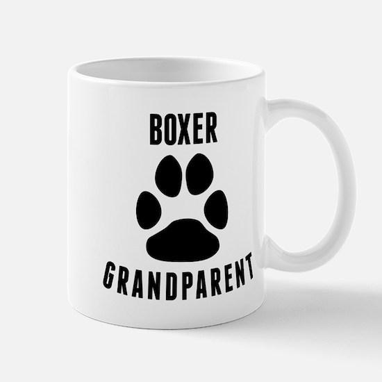 Boxer Grandparent Mugs