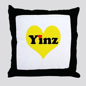 Yinz, black and gold heart, Pittsburgh slang, Thro