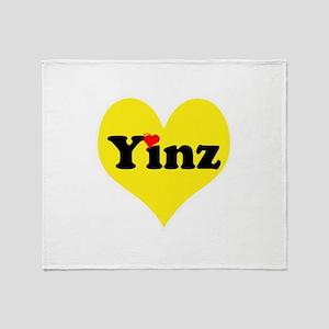 Yinz, black and gold heart, Pittsburgh slang, Thro