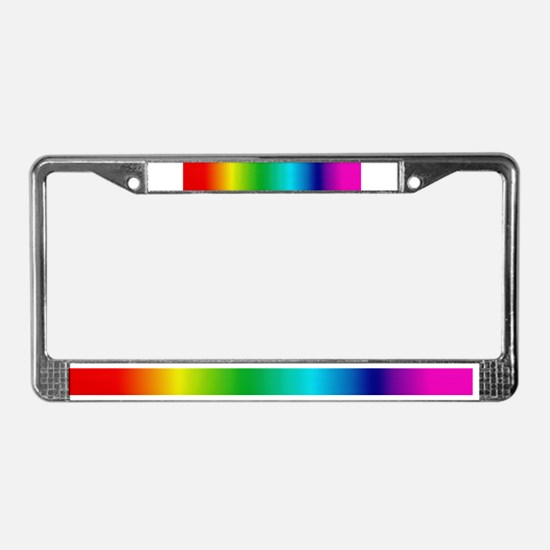 PHAT RAINBOW License Plate Frame