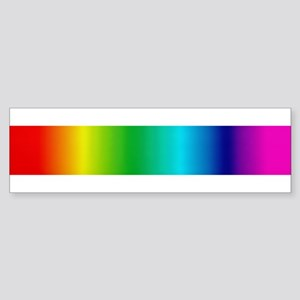 PHAT RAINBOW Bumper Sticker
