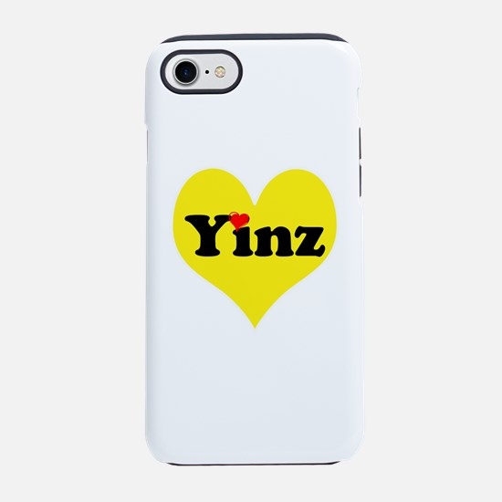 Yinz, black and gold heart, Pittsburgh slang, iPho