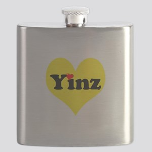 Yinz, black and gold heart, Pittsburgh slang, Flas