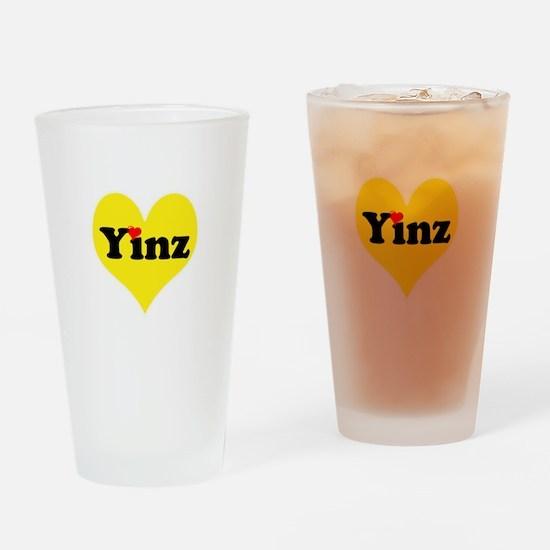 Yinz, black and gold heart, Pittsburgh slang, Drin