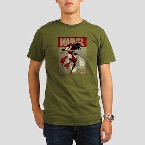 Elektra Marvel Vintag Organic Men's T-Shirt (dark)