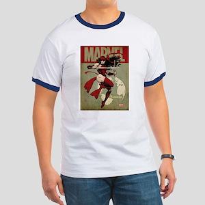 Elektra Marvel Vintage Ringer T
