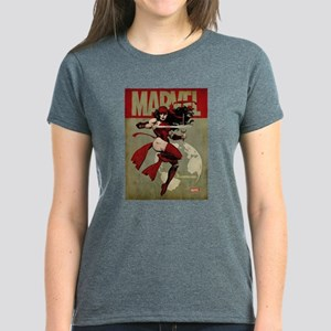 Elektra Marvel Vintage Women's Dark T-Shirt