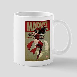 Elektra Marvel Vintage Mug