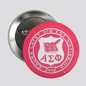 "Alpha Sigma Phi Crest 2.25"" Button (100 pack)"
