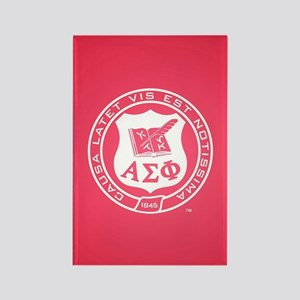 Alpha Sigma Phi Crest Rectangle Magnet