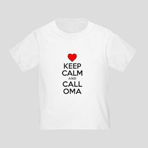 Keep Calm Call Oma T-Shirt