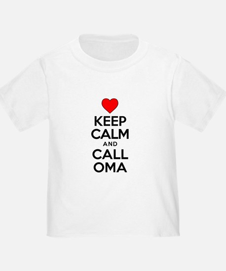 Keep Calm Call Oma T-Shirt