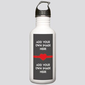 Lovers - Add Your Own Images Water Bottle